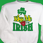 Kiss Me I'm Irish Personalized Shirt