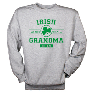 Personalized Irish Grandma Sweatshirt