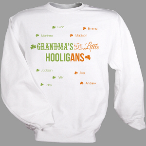 Personalized Wee Little Hooligans Sweatshirt