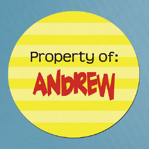 Property Of Stickers