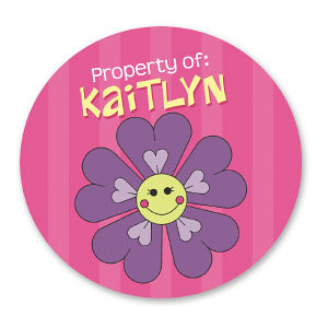 Property of Flower Stickers