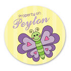 Property Of Butterfly Labels