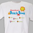 Beach Bums Personalized T-shirt
