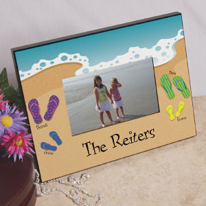 Personalized Family Vacation Printed Frame