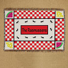 Personalized Family Picnic Tapestry Throw Blanket