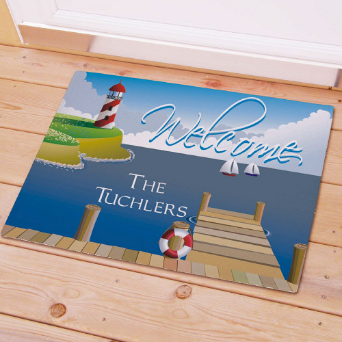 Lighthouse Personalized Doormat 83135967