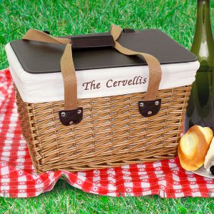 Embroidered Picnic Basket E746696