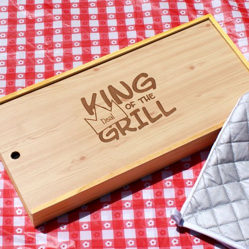 Personalized Barbeque Grill Set | BBQ Gift