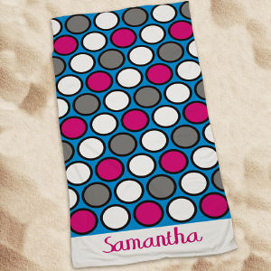Personalized Beach Towel for Her