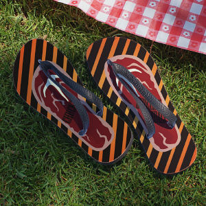 Personalized BBQ Grilling Sandals