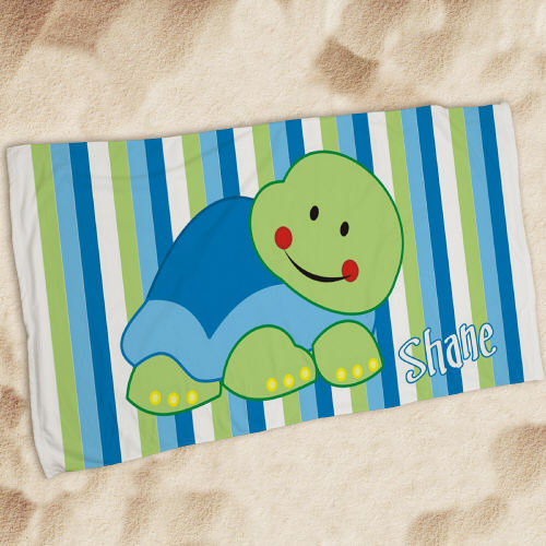 Personalized Turtle Beach Towel U674933
