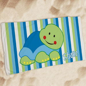 Personalized Turtle Beach Throw