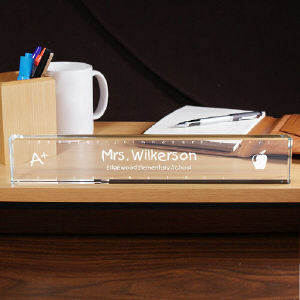 Personalized Teacher Name Plate | Personalized Teacher Gifts