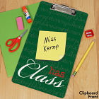 Personalized Teacher Clipboard U591424