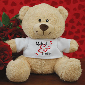 Personalized Couple's Teddy Bear