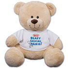 Personalized Beary Special Nurse Teddy Bear