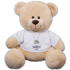 Personalized I'm A Navy Kid Teddy Bear
