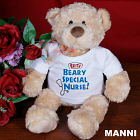 Bearly Special Nurse ©Ty Inc. Plush Teddy Bear