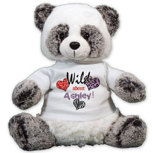 Personalized Wild About Panda Bear