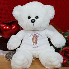 Personalized Bears in Love Teddy Bear