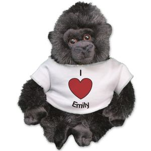 Personalized I Love You Gorilla