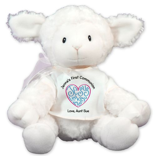 Personalized Jesus Loves Me Lamb GU319736-7252
