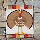 Welcome Turkey Personalized Slate Plaque