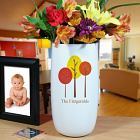 Personalized Ceramic Fall Flower Vase