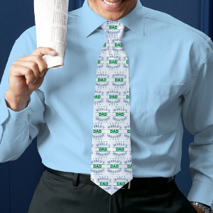 Personalized World's Greatest Neck Tie