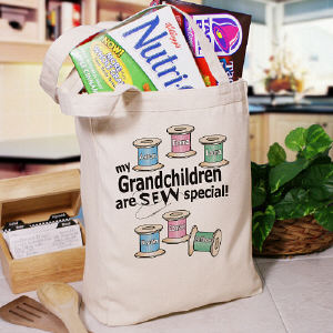 Sew Nice Canvas Personalized Tote bag