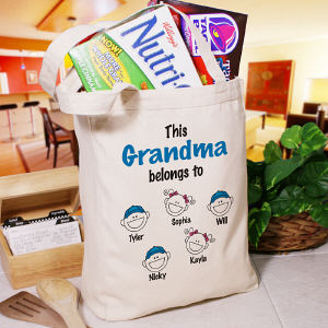 Personalized Belongs to Tote Bag