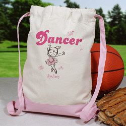 Personalized Dancer Backpack