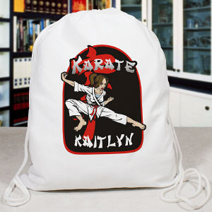 Personalized Karate Sports Bag