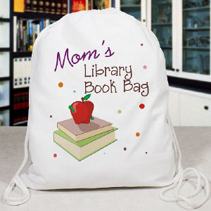 Personalized Library Book Sport Bag