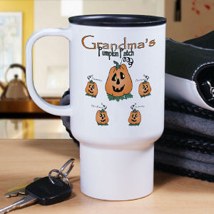 Pumpkin Patch Personalized Travel Mug