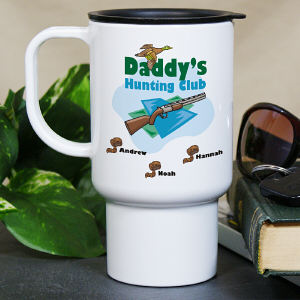 Personalized Hunt Club Travel Mug
