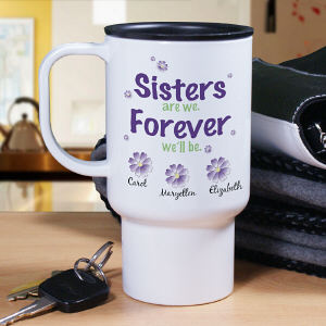 Sisters Personalized Travel Mug T219620