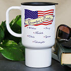 Personalized USA Pride Travel Mug