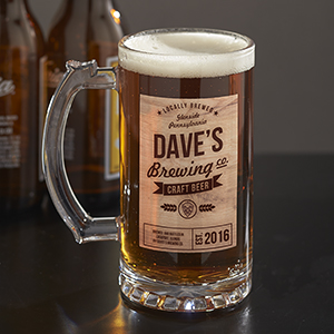 Personalized Brewing Company Glass Stein U1036895