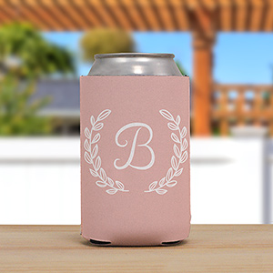 Personalized Single Initial Koozie