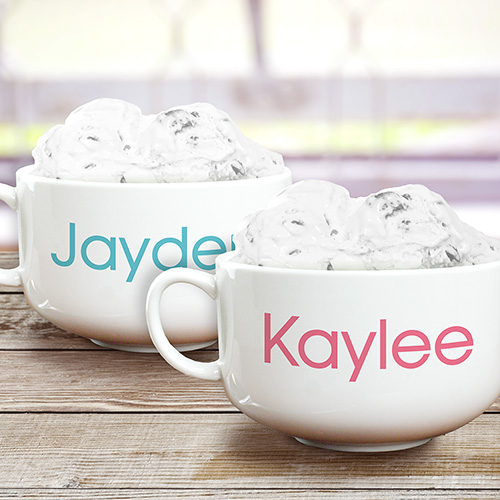 Personalized Any Name Ice Cream Bowl U1046223