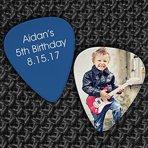 Birthday Favor Guitar Pick U1050385X