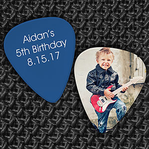 Birthday Favor Guitar Pick