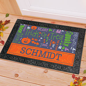 Halloween Word-Art Doormat HWADM
