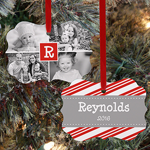 Personalized Photo Collage Double Sided Ornament U1065830