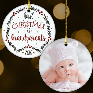 First Christmas As Photo Ornament U1077410