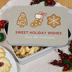 Personalized Holiday Tin U1078122