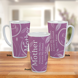 Personalized Latte Mug For Her  U1090194