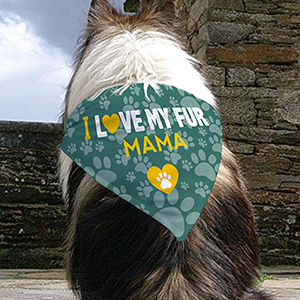 Personalized Fur Mama Dog Bandana U1126852