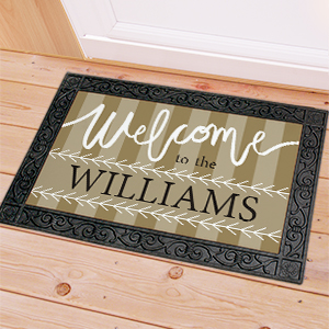 Personalized Welcome To Doormat U1169583X